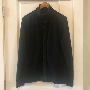 BANANA REPUBLIC Black Knit Jacket Large